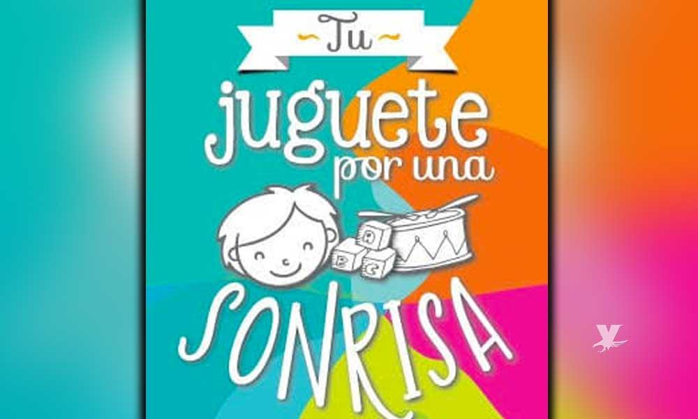 """""""Papás en Acción"""" realiza la campaña 'Tu juguete por una Sonrisa' en Tecate"""
