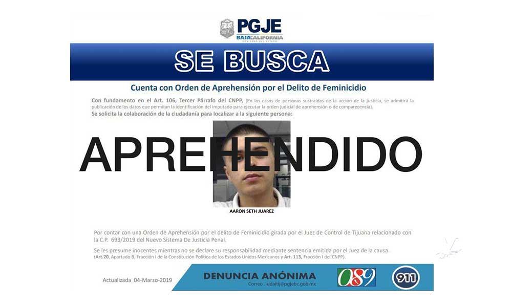 Capturan en Chula Vista a presunto asesino de Fernanda González