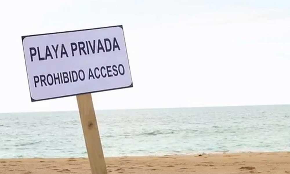 No más playas privadas en México: Sectur