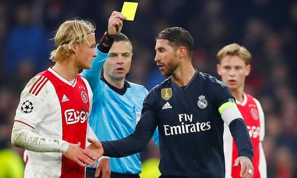 Anuncia UEFA suspensión de 2 partidos para Sergio Ramos en la Champions