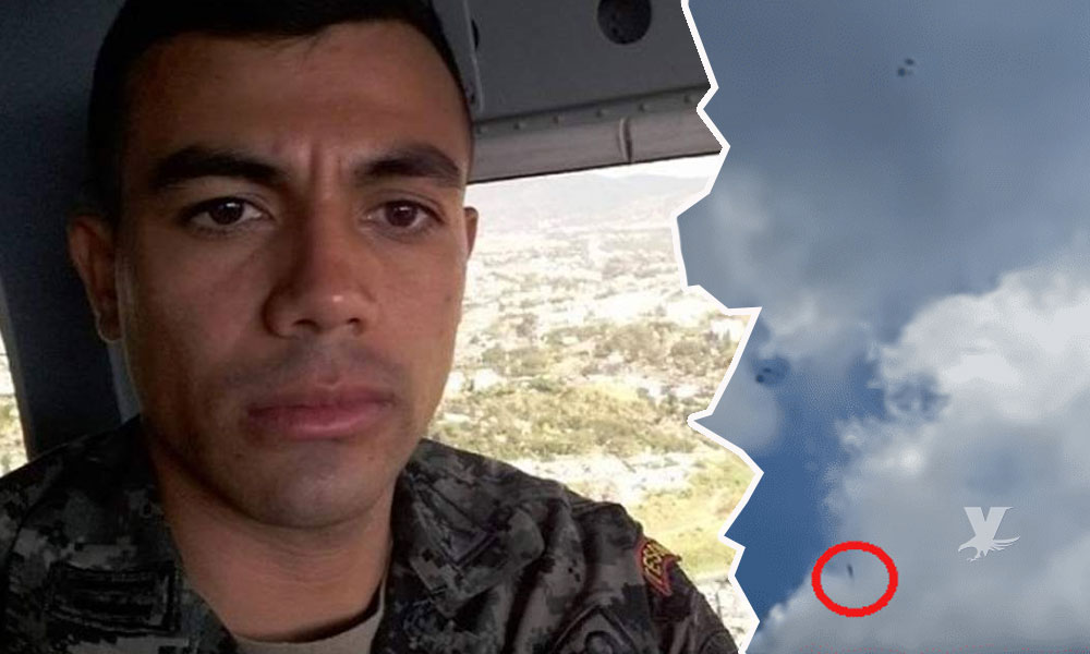 (VIDEO) Muere soldado paracaidista por mal funcionamiento de su equipo