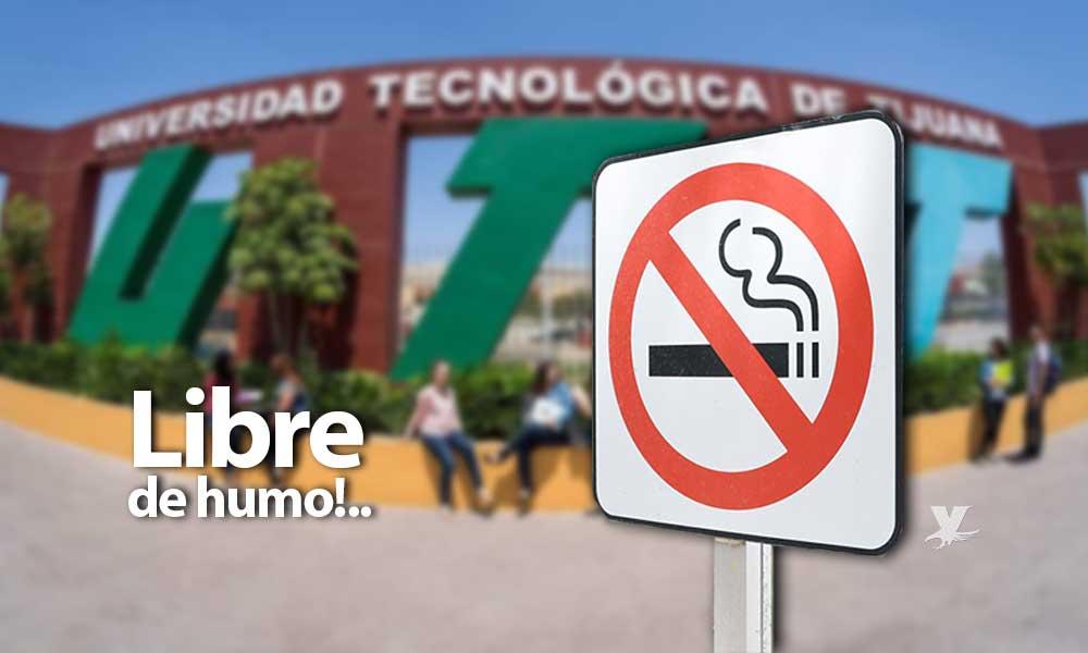 Comprometidos con el medio ambiente, UTT se convierte en institución libre de humo de cigarro