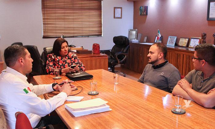 Fortalecen alianzas para el beneficio de Tecate Gobierno Municipal y CANACO