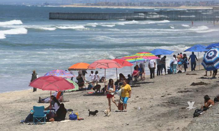 Posible cierre de playas en la ciudad de Tijuana