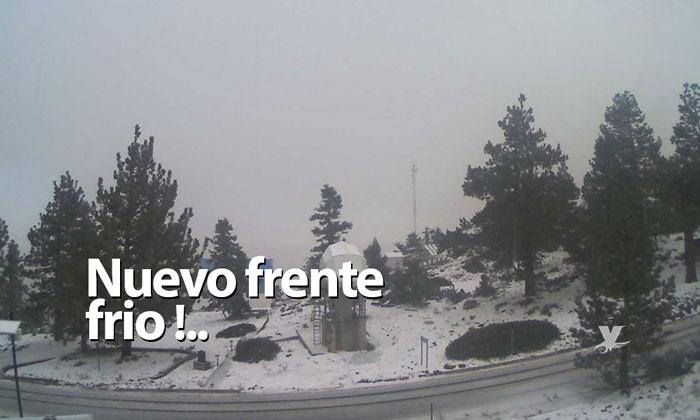 Nuevo frente frío provocará temperaturas de hasta -5 grados en Baja California