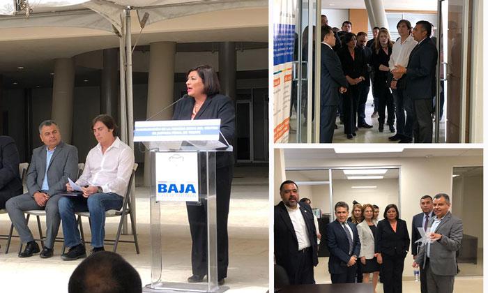 Inauguran Centro de Justicia Penal en Tecate