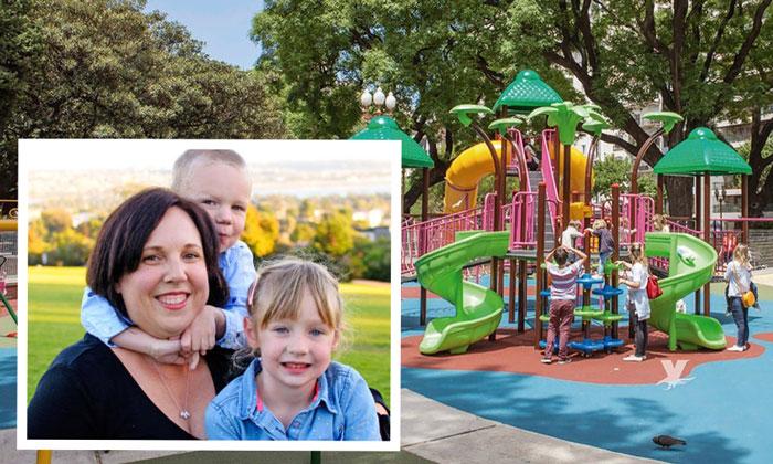 Piden no permitir adultos en áreas infantiles en parques de San Diego