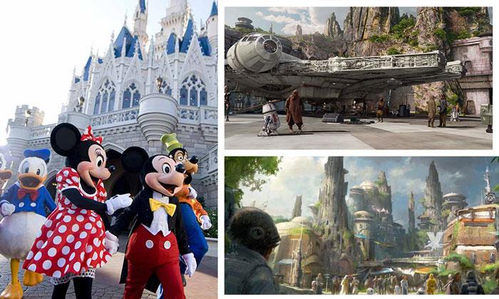Parque de Star Wars en Disneyland abre en mayo