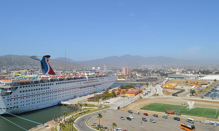 Arribarán 28 cruceros a Ensenada en el mes de abril