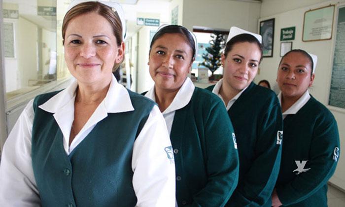 Ofrece Alemania más de 43 mil pesos al mes a enfermer@s