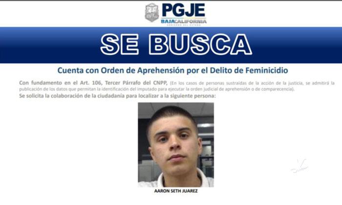 Se busca sujeto con orden de aprehensión por feminicidio