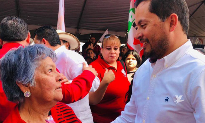 Toma protesta Javier Urbalejo como candidato a la Presidencia Municipal de Tecate