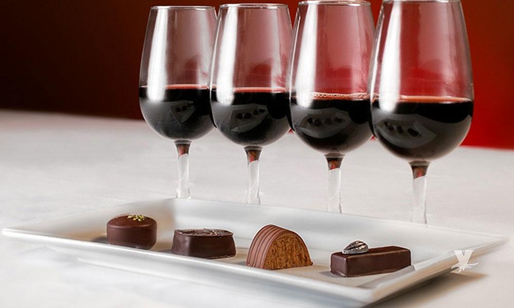 Combate las arrugas comiendo chocolate y bebiendo vino