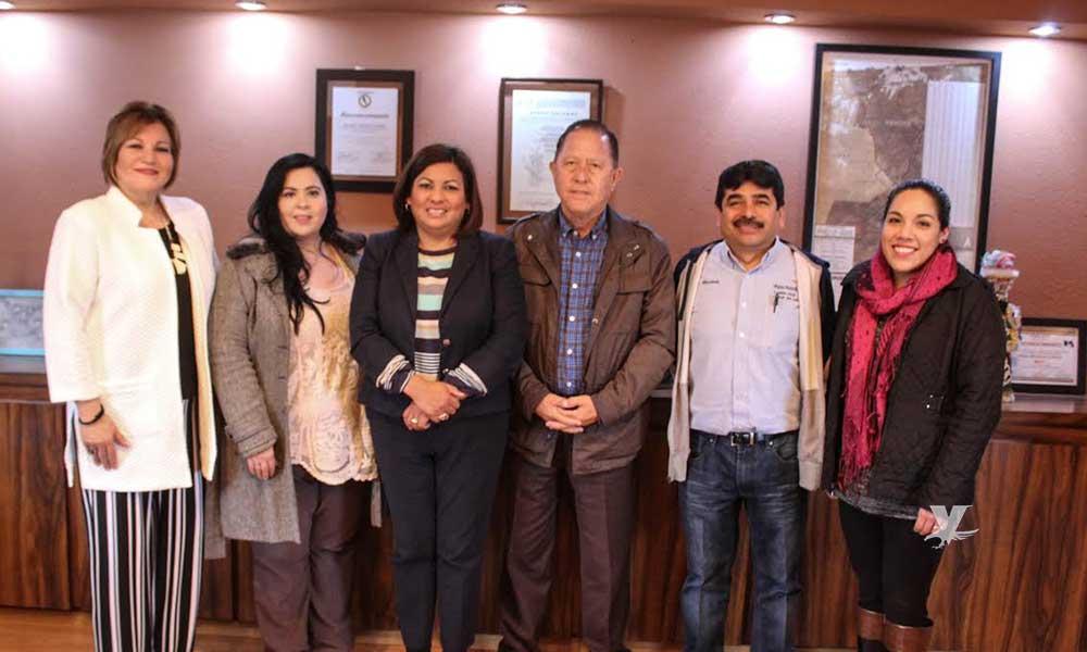 Gobierno Municipal de Tecate sostienen reunión de acercamiento con asociación World Vision por los niños