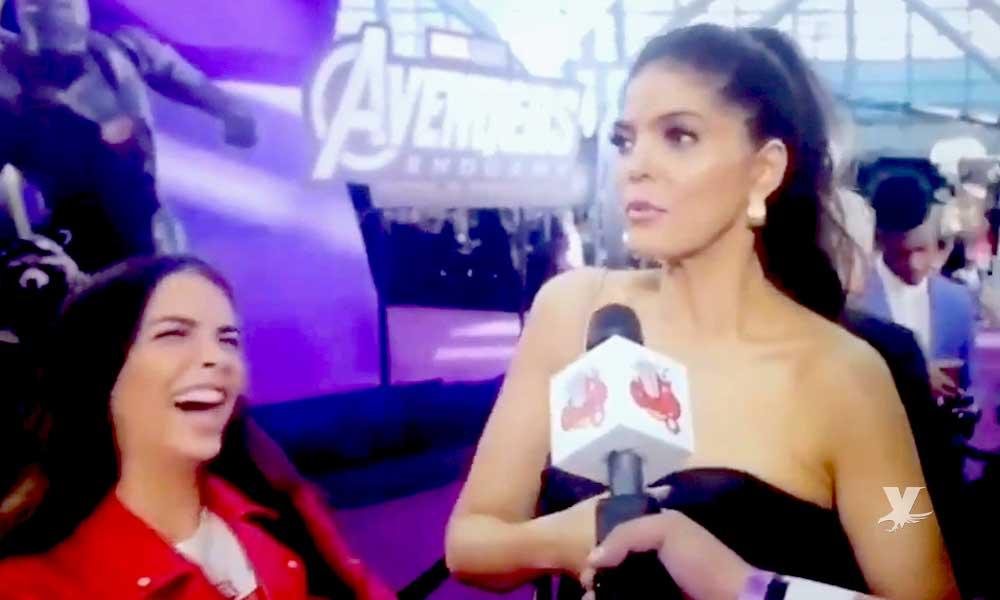 (VIDEO) Ana Bárbara es blanco de burlas por decir que la Mujer Maravilla es su personaje favorito de Marvel