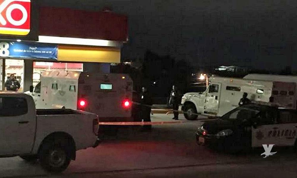 Ladrones se llevan 2 millones de pesos en asalto a camión de valores en Tijuana