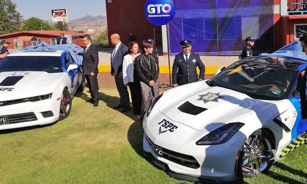 Policía de Guanajuato vigilará con autos de lujo decomisados al narco