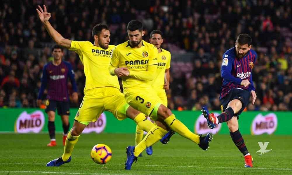 Barcelona empata de último minuto contra el Villarreal con 'golazo' de Luis Suárez