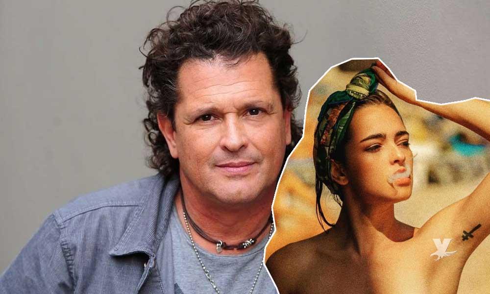 (FOTOS) Lucy Vives hija del cantante Carlos Vives es fotografiada sin ropa