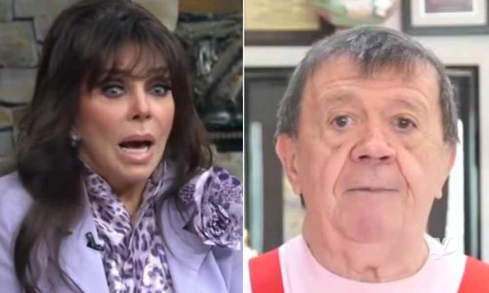 """(FOTO) Verónica Castro fue la primer edecán de """"En Familia con Chabelo"""""""