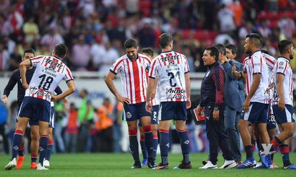 Chivas arrancaría el Apertura 2019 como último lugar de la porcentual
