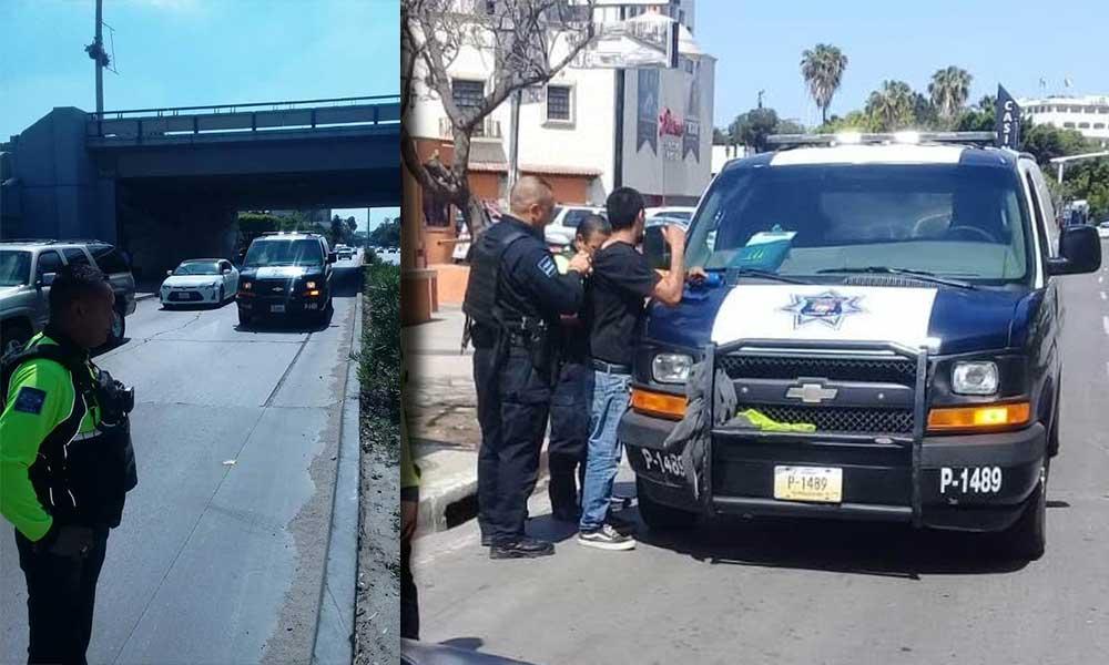 Detienen a 20 en garita de San Ysidro por denuncias de automovilistas