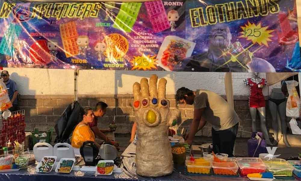 Inspirado en Avengers mexicano crea el 'Elothanos'