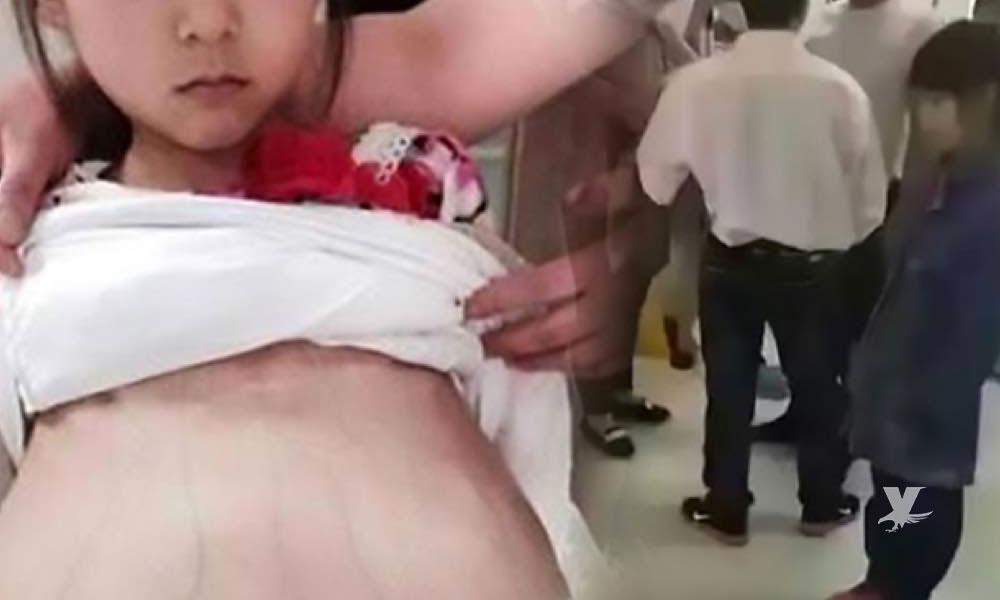Realizan cesárea de emergencia a niña de 12 años que fue embarazada por un familiar