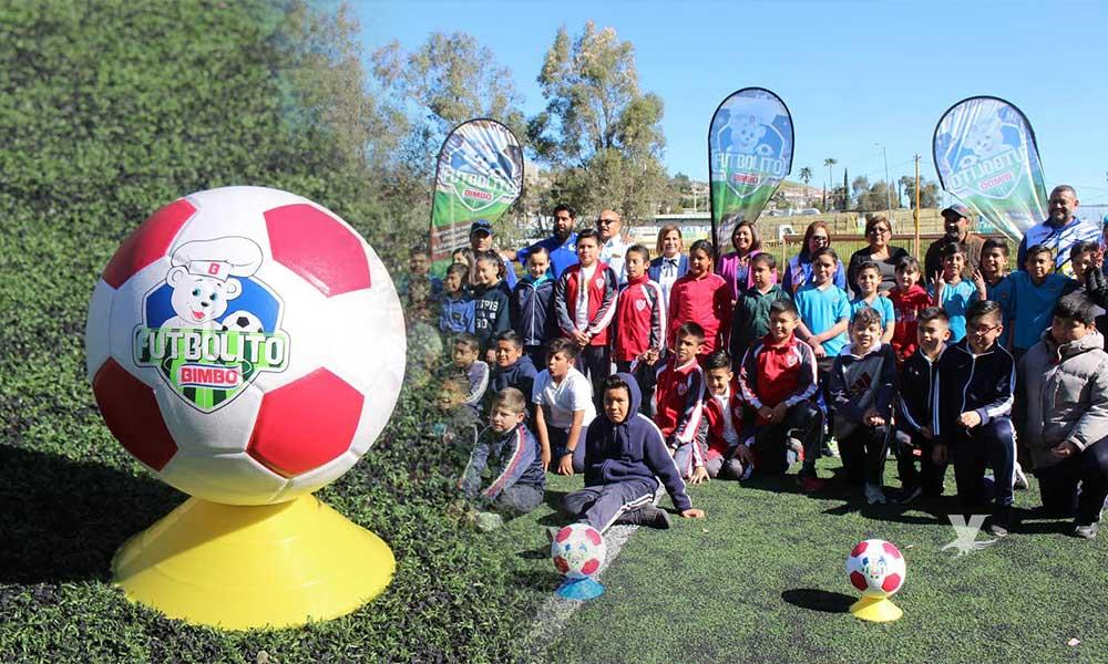 Inauguran el Torneo Futbolito Bimbo 2019