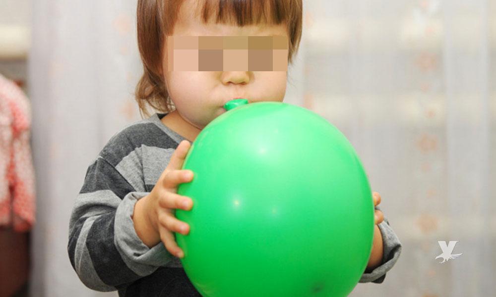 Niño de 4 años murió al tratar de tragarse un globo