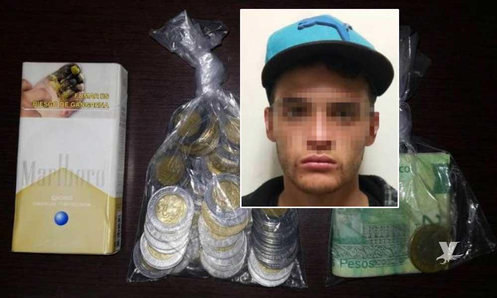 Detienen al Bryan por robo con violencia en negocio sobre la carretera Tecate-Tijuana