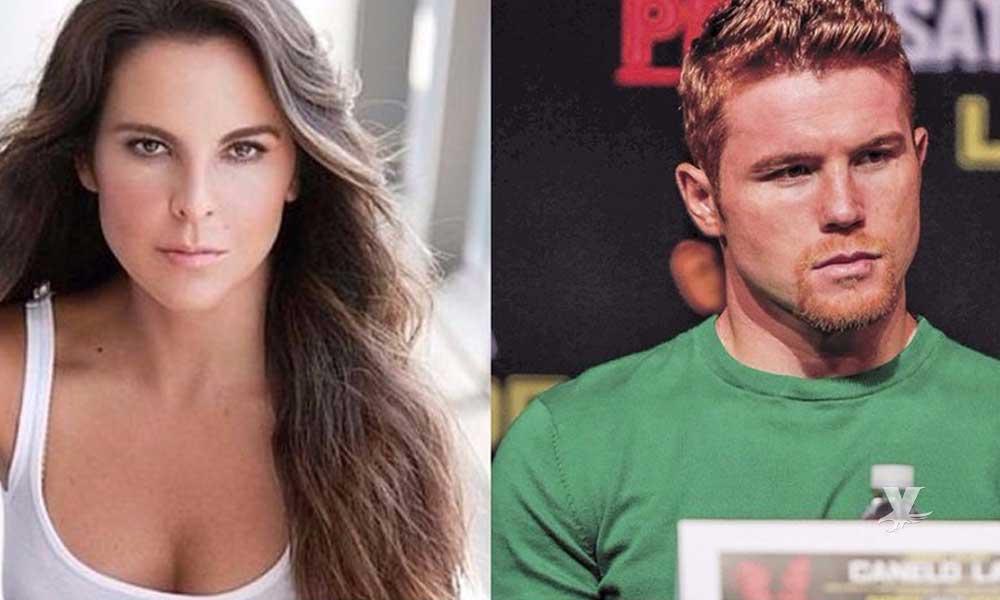 (VIDEO) Kate del Castillo declara que tuvo una relación con el boxeador 'Canelo' Álvarez
