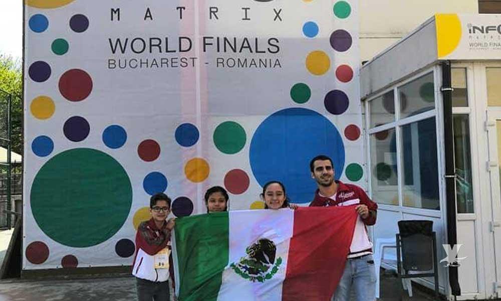 Mexicalenses ganan tercer lugar en torneo de robótica realizado en Rumania