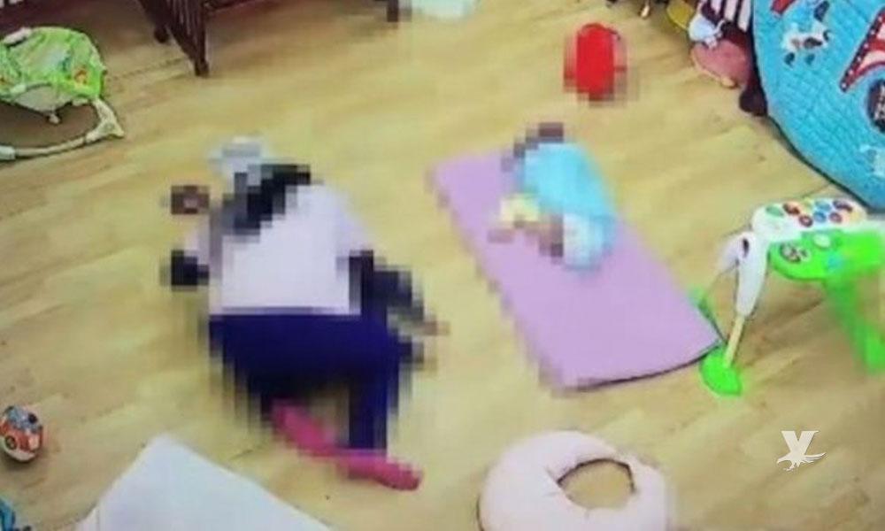 Maestra asfixia a un niño de 11 meses en una guardería porque no se quería dormir