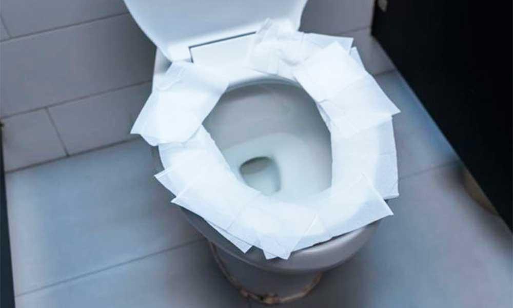 No volverás a poner el papel higiénico en el asiento del inodoro después de esto…