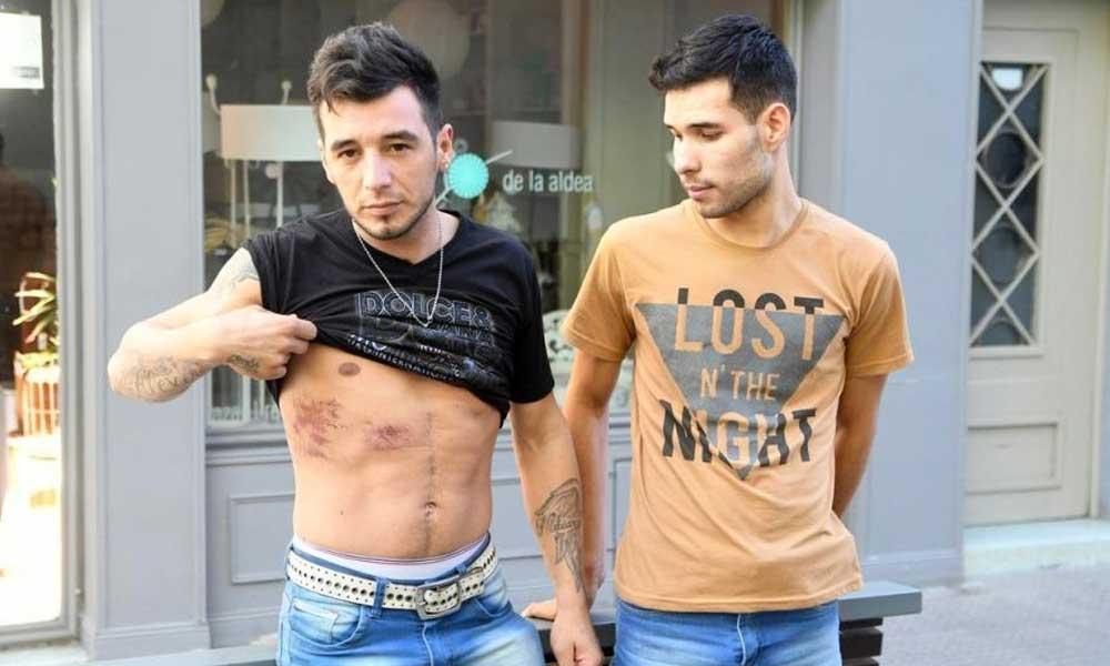 (VIDEO) Policías detienen, golpean y abusan de una pareja homosexual