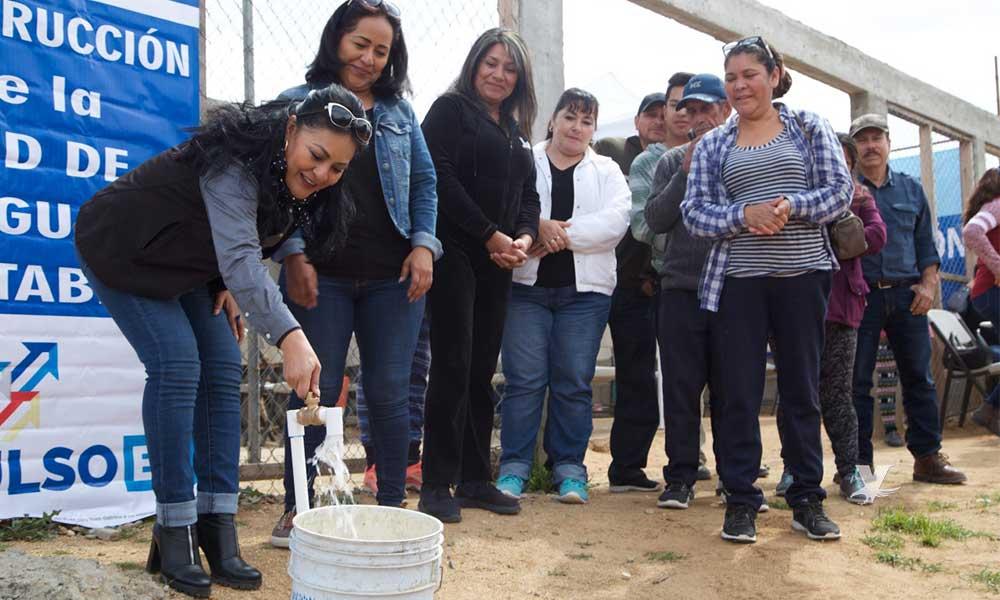 Amplia CESPTE servicio de agua a zonas de reciente creación