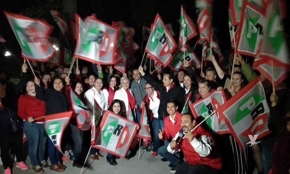 Arrancan campaña Urbalejo y Linda Mricela por el PRI en Tecate