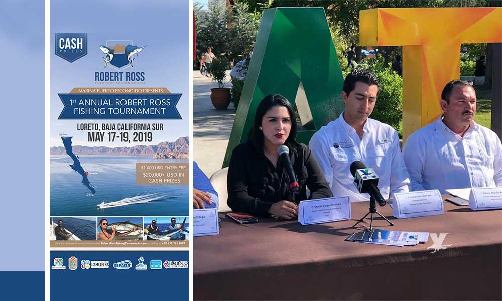 "Invitan a Torneo de Pesca Deportiva ""Robert Ross"" en Loreto Baja California Sur"