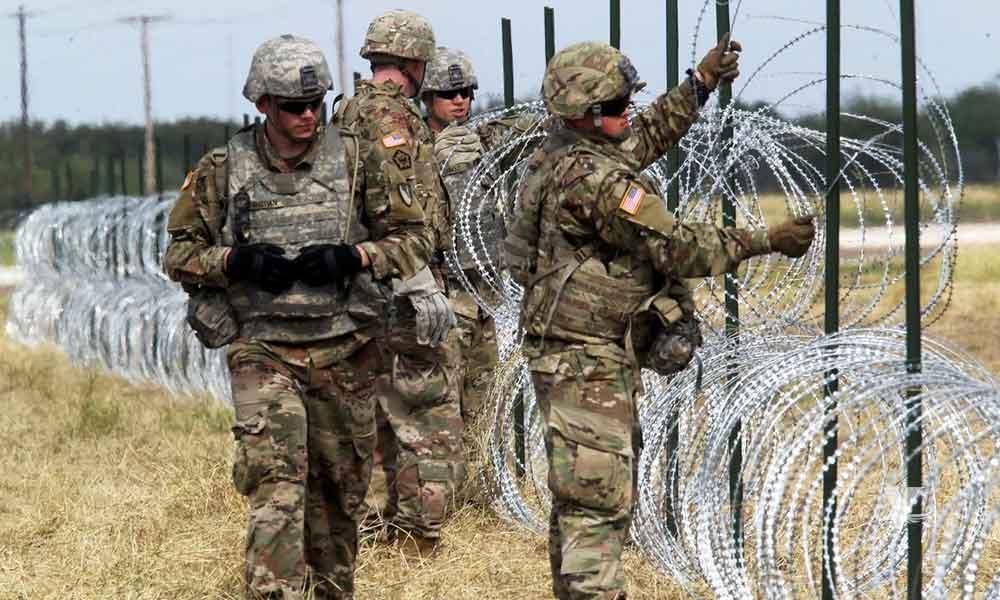 Trump denuncia que soldados de México apuntaron y desarmaron a soldados americanos en la frontera