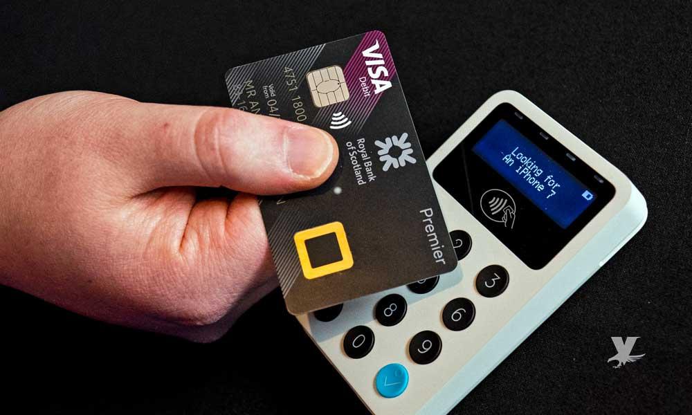 Nueva tarjeta de crédito solicita huella dactilar y no PIN