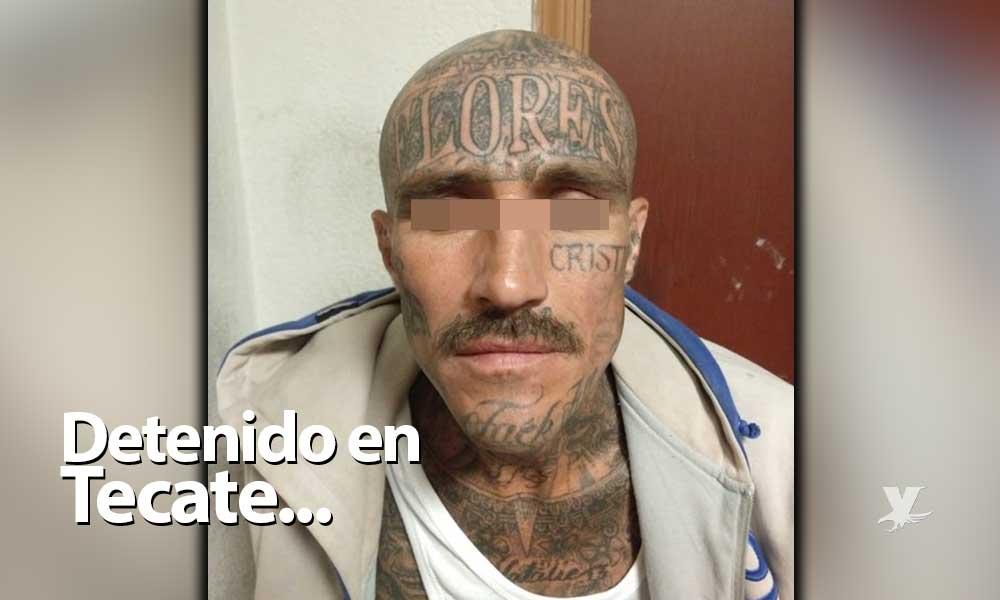 Detienen a sujeto que intentó asaltar un Oxxo en Zona Centro de Tecate