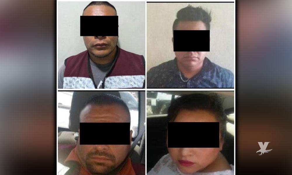 Detienen a 4 personas que realizaban robos a personas cuando salían de bancos en Tijuana