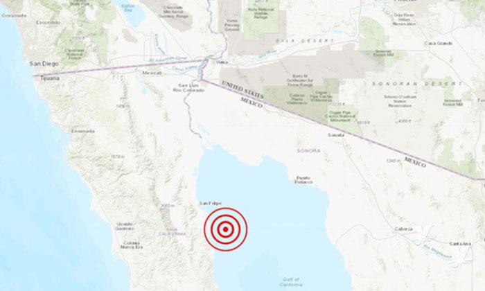 Sismos de 4.3 y 4.5 grados sacuden a San Felipe