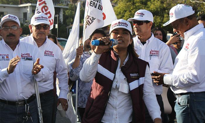 Da inicio la campaña de Jaime Bonilla para ser Gobernador de Baja California