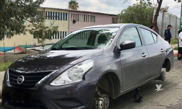 Capturan en Tecate a sujeto que se dedicaba al desmantelamiento de Vehículos