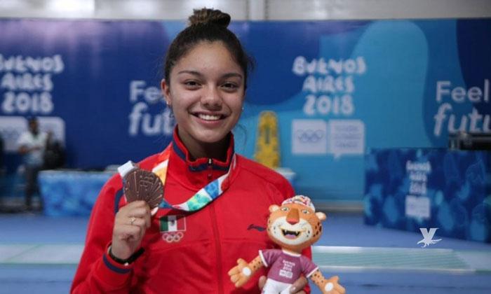 La Tijuanense Natalia Botello gana medalla de plata en campeonato mundial de esgrima