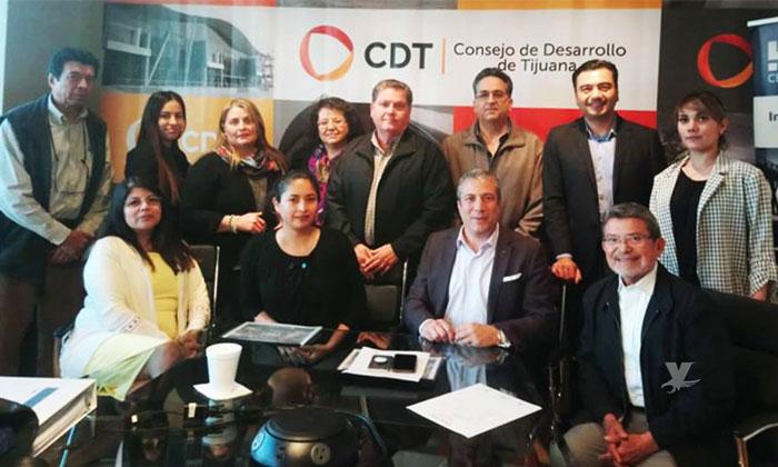 Se reúne Gobierno de Baja California con Consejo de Desarrollo Económico de Tijuana