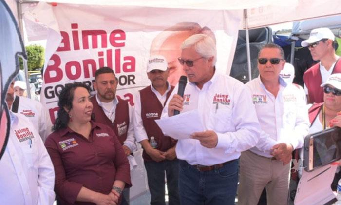 Promete Jaime Bonilla convertir a San Felipe y San Quintín en municipios