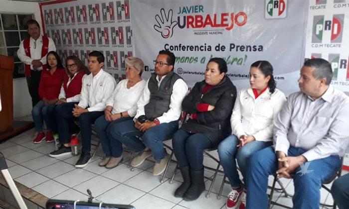 Es vital que el próximo alcalde de Tecate cuente con la experiencia para gobernar: Javier Urbalejo